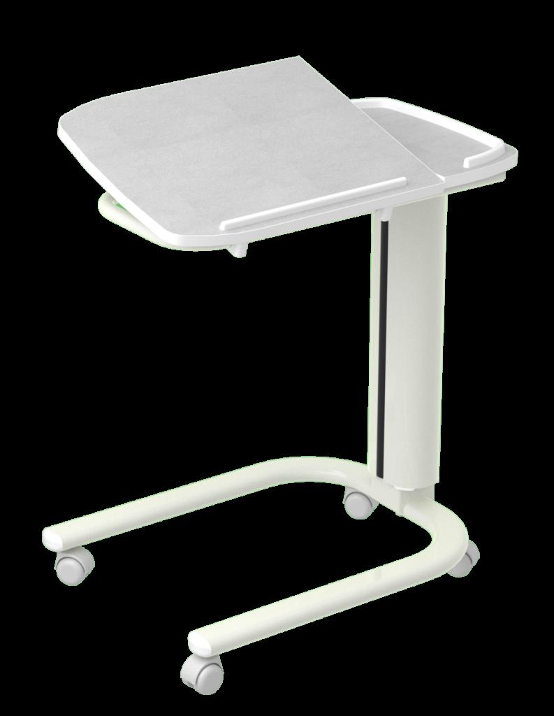 Table à manger au lit ambulatoire AHF 2 plateaux stratifié